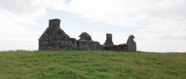 oude boerderij bij Wick